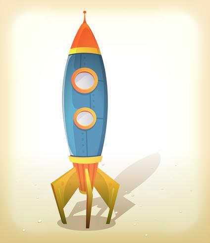 Aterrizaje retro de la nave espacial