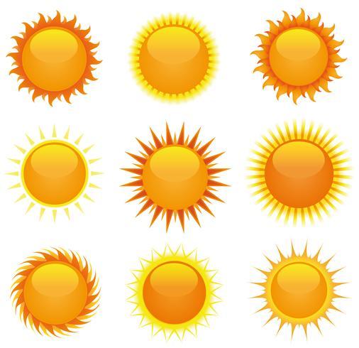 Glänsande Suns Set