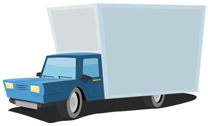 Caminhão dos desenhos animados