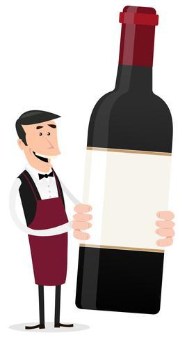 Dessinateur français vinificateur