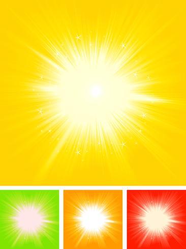 Summer Sun Starburst