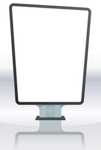 Wit aanplakbord