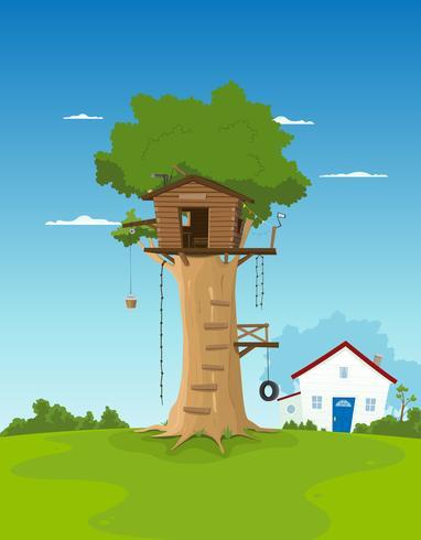 Tree House dans le jardin