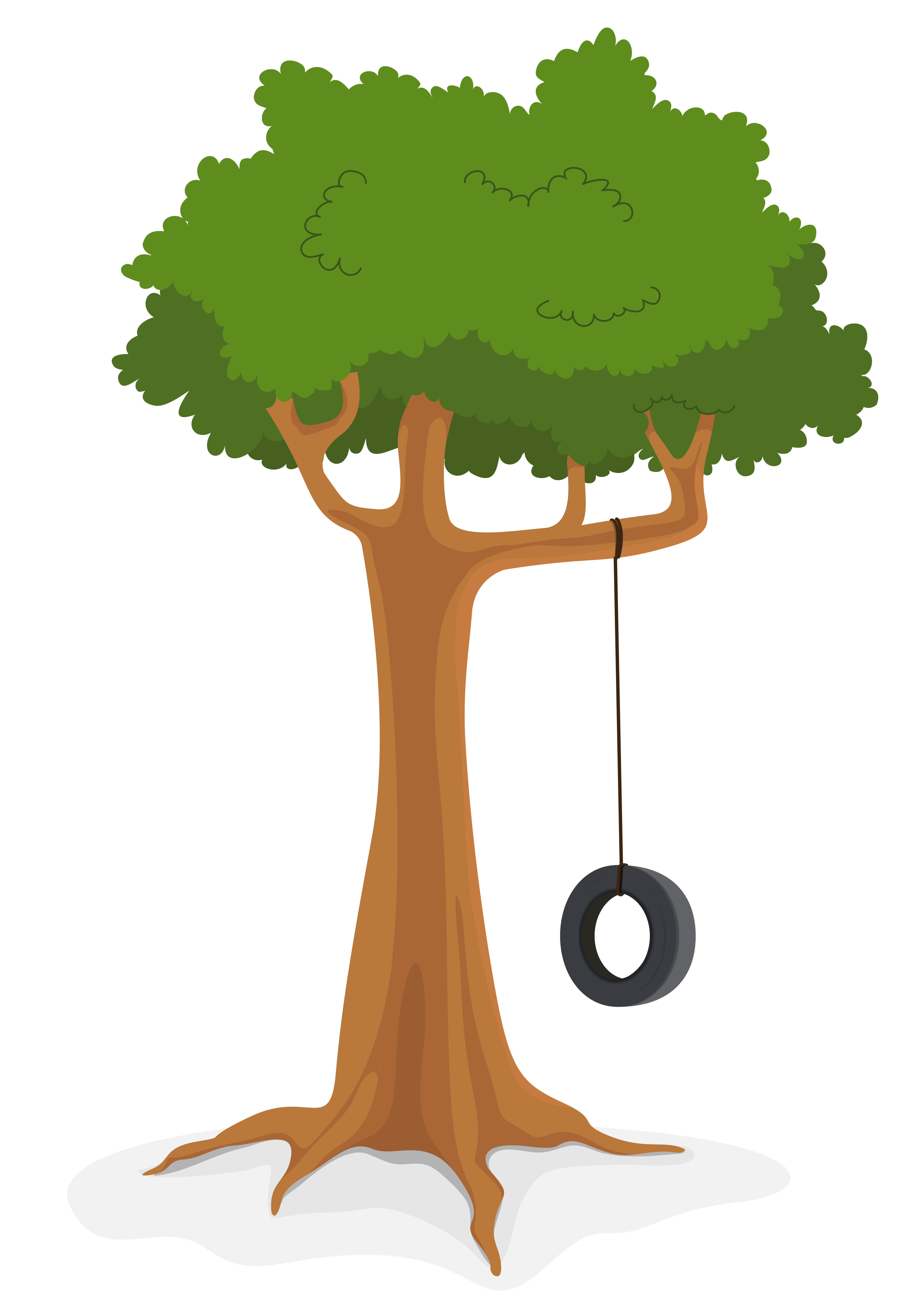 Tree With Swing Download Free Vectors Clipart Graphics