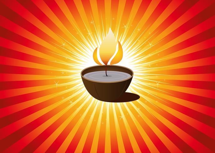 Diwali Festival oder Weihnachtshintergrund