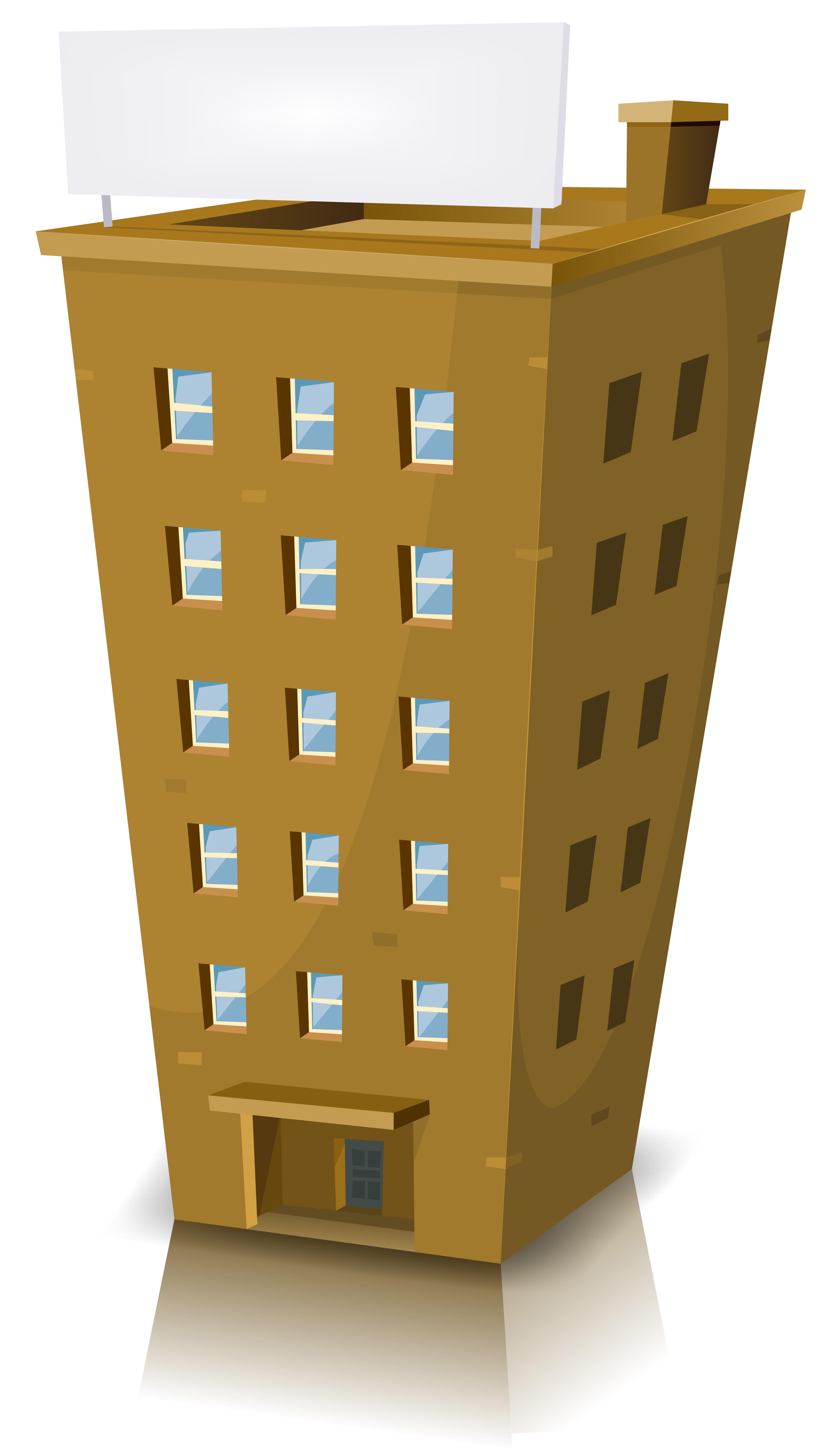 Bâtiment résidentiel de dessin animé - Téléchargez de l ...