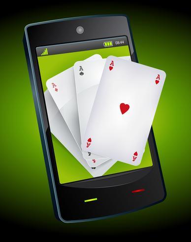 Jeu sur smartphone - Poker Aces