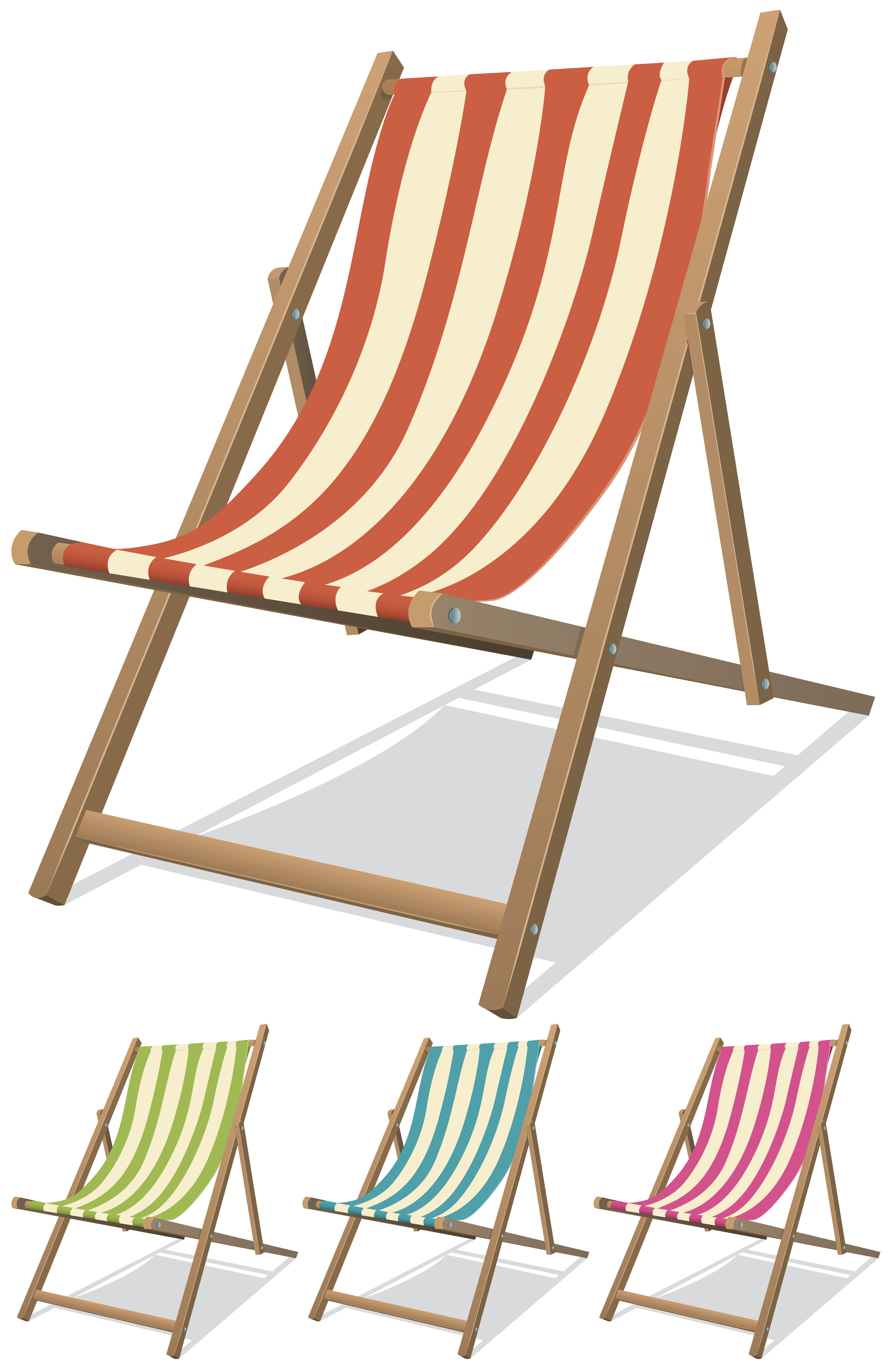 Beach Chair Set - Download Free Vectors, Clipart Graphics ...