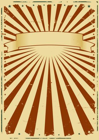 Grunge Sunbeams Background