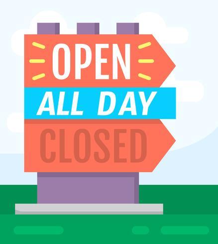 Señal abierta / cerrada