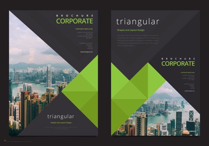 professional brochure template business marketing flyer template