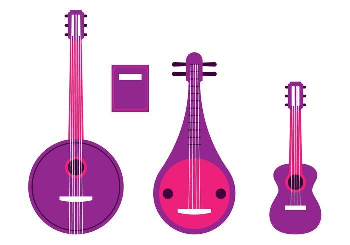Jeu d'instruments à cordes