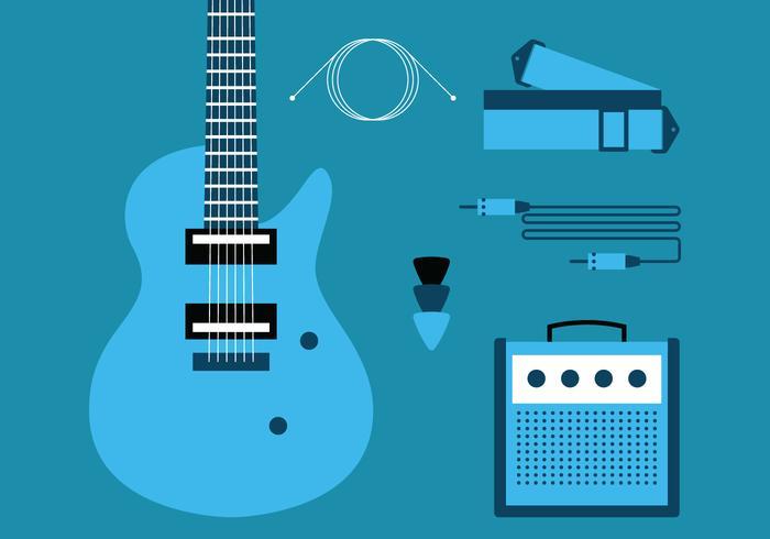 Juego de guitarra eléctrica