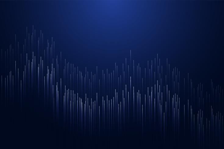Linhas retas compostas de fundo brilhante. T moderno abstrato