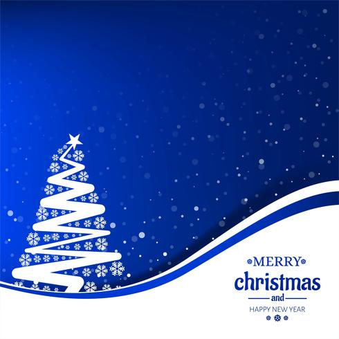 Fröhlicher Weihnachtsbaum mit Kartenfestivalhintergrund