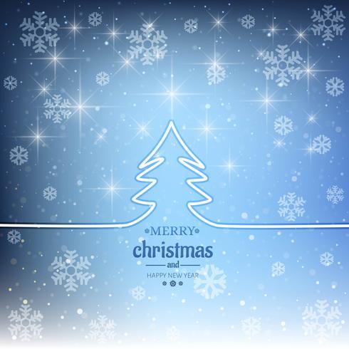 Moderner dekorativer Hintergrund der frohen Weihnachten