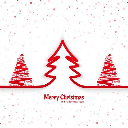 Moderner Festivalhintergrund der frohen Weihnachten