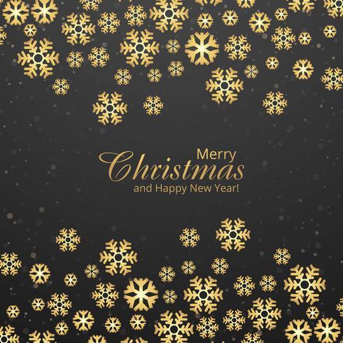 Dekorativer Schneeflockenfestivalhintergrund der frohen Weihnachten