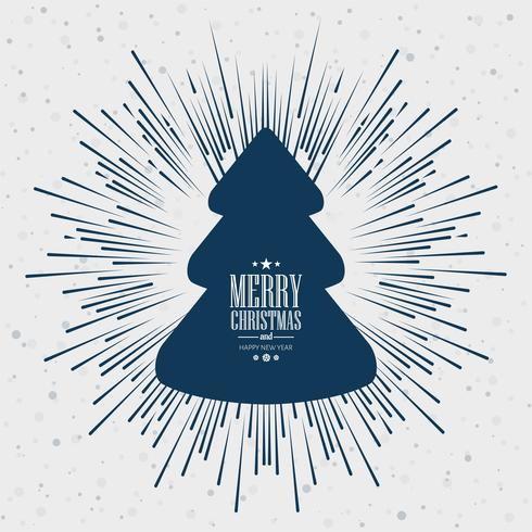 Festival-Kartenhintergrund der frohen Weihnachten