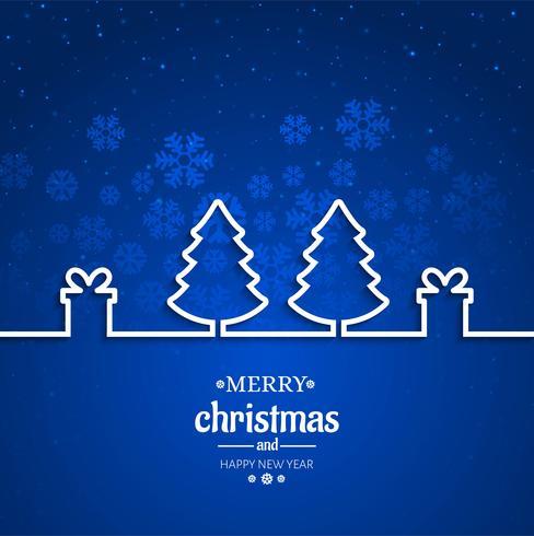 Gott julgran med kortfestival bakgrund