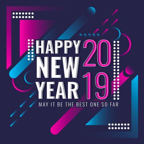 Vector Feliz Año Nuevo Instagram Post