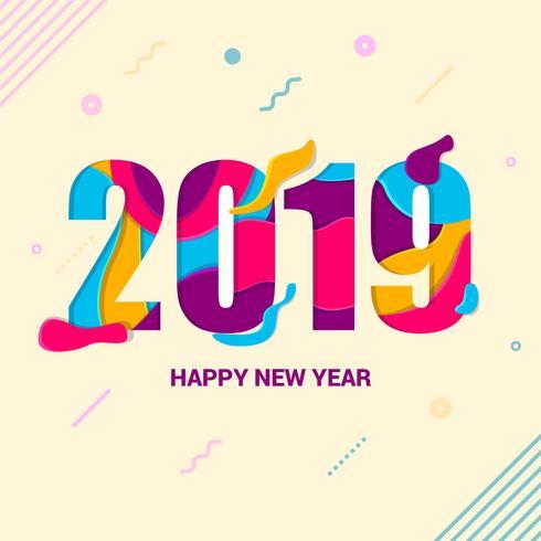 Frohes neues Jahr Instagram Beitrag