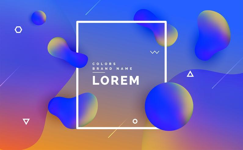 modern liquid color fluid gradient background design