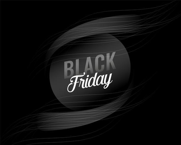 dunkler schwarzer Freitag-Hintergrundentwurf