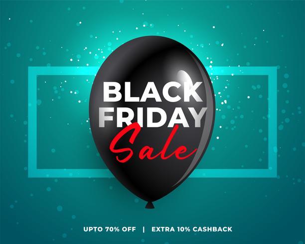 schwarzer Freitag Verkaufsposter Design Hintergrund