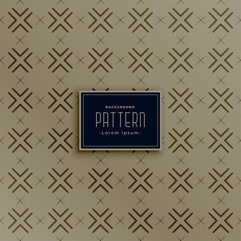 Vintage Cross Line Pattern Décoration de fond