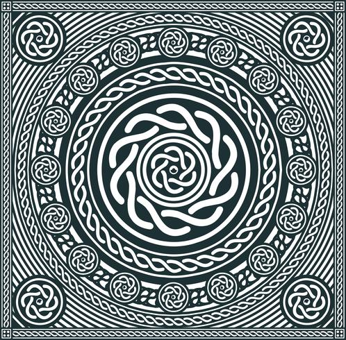 Abstracte Mandala-achtergrond vector