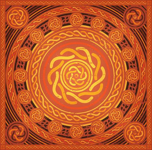 Fundo abstrato Mandala vetor