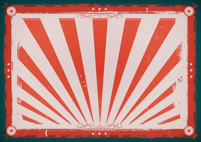 Independence Day Vintage Horizontal Poster vector