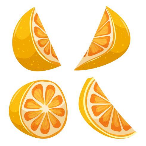 Cartoon Lemon vector
