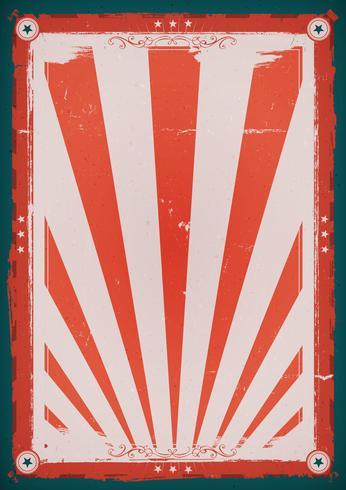 Quarto do cartaz do fundo do vintage de julho