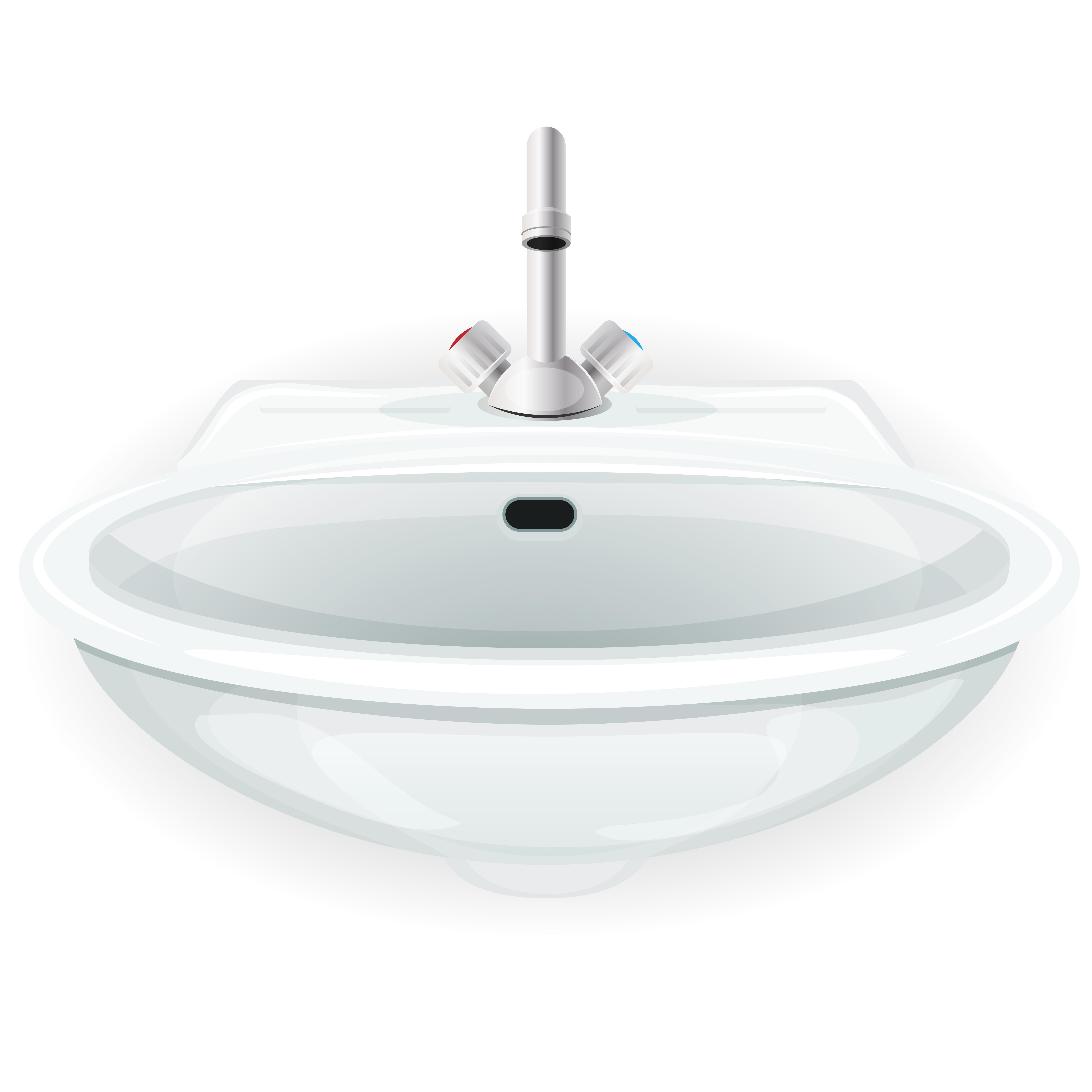 Bathroom Sink With Tap Download Free Vector Art Stock