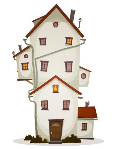 Funny Big House vector