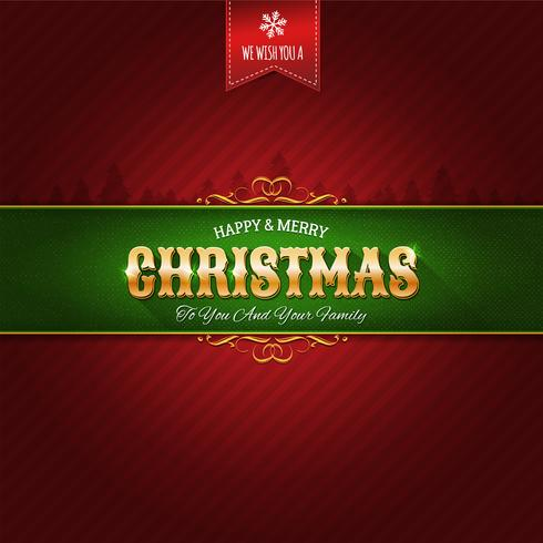 Christmas Ornament Background vector
