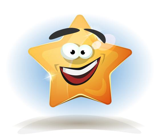 Funny Star Character Icon