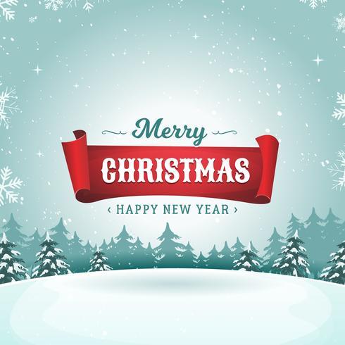 Cartão dos feriados do Feliz Natal