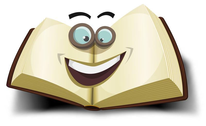 stor bok karaktär ikon