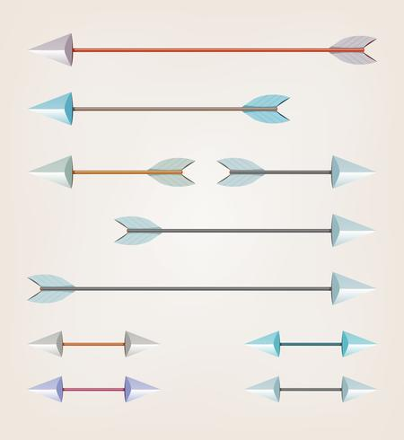 Arrows For Bow vector