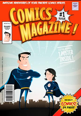 Copertina di fumetti