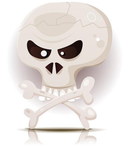schedel en gekruiste beenderen