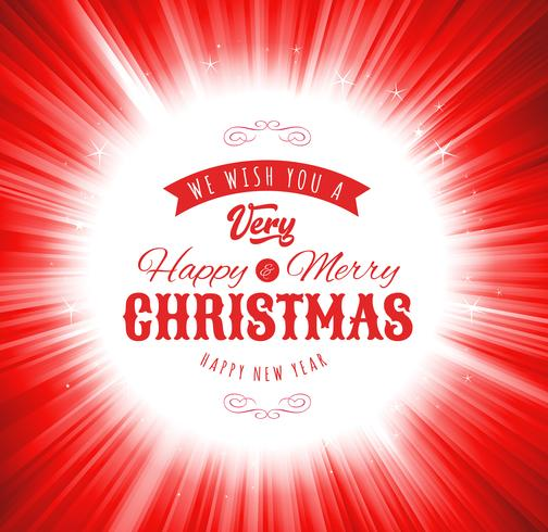 Merry Christmas Wishes Background