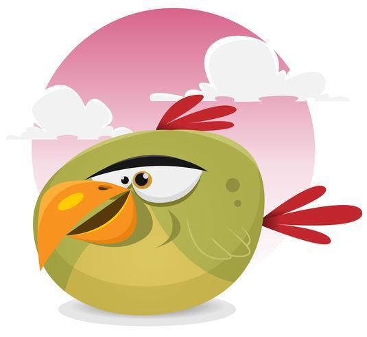 Pájaro exótico toon