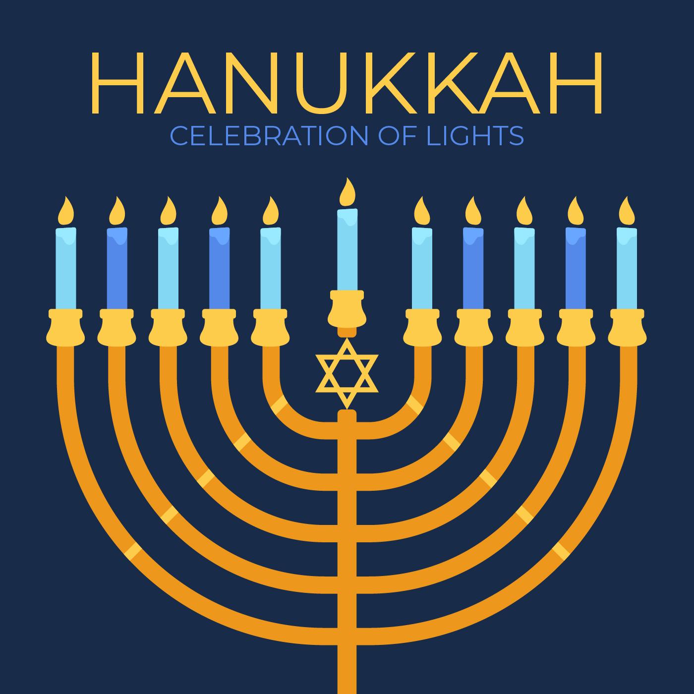 Hanukkah Poster - Download Free Vectors, Clipart Graphics ...