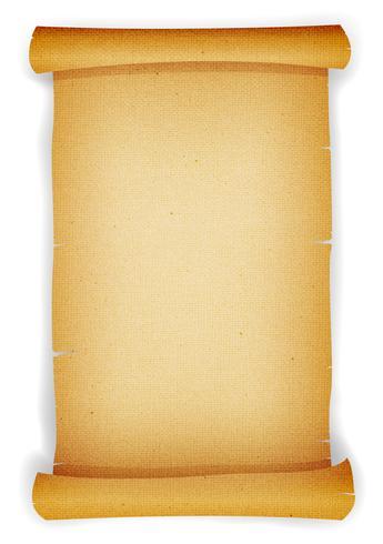 Pergaminho texturizado velho pergaminho vetor