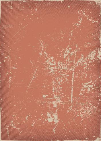 Vintage And Grunge Red Scratched Background vector