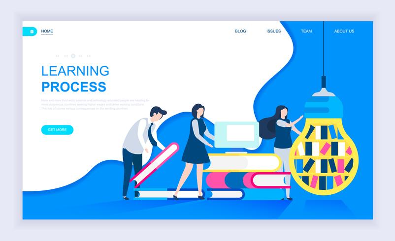 Learning Process Web Banner